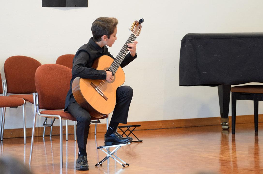 Teilnehmerkonzert Gitarrenfestspiele Nürtingen 2016 - Julian Fritzsch