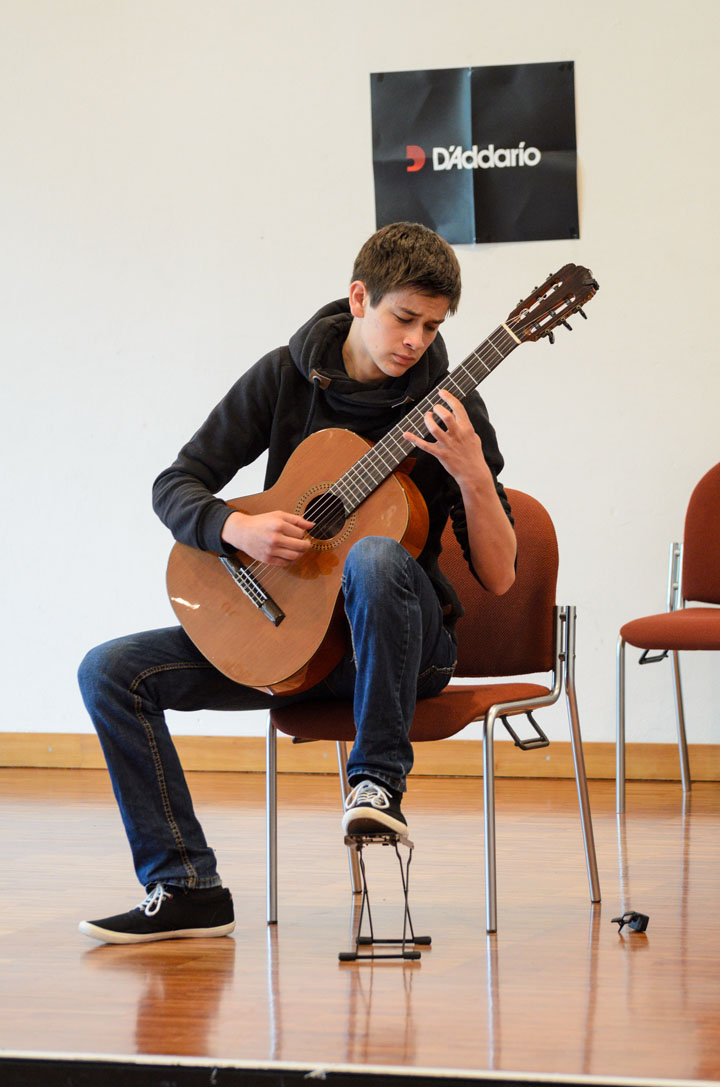 Teilnehmerkonzert Gitarrenfestspiele Nürtingen 2016 - Anton Maiwald